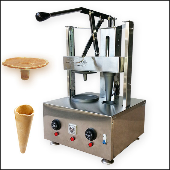 Cone&Umbrella pizza machine