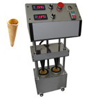 Automatic cone pizza machine-2molds